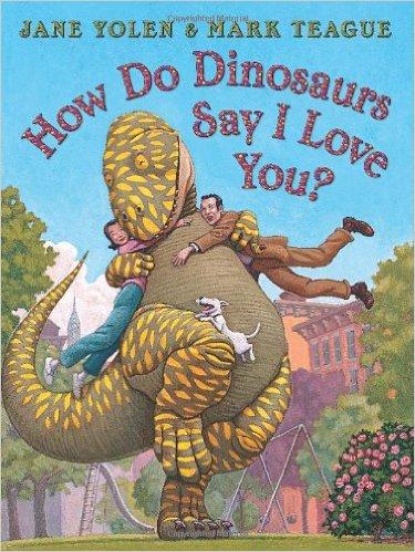 How do dinosaurs say I love you